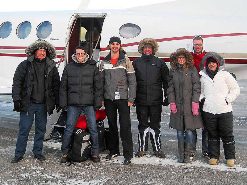 Team gets ready to leave for Kugluktuk