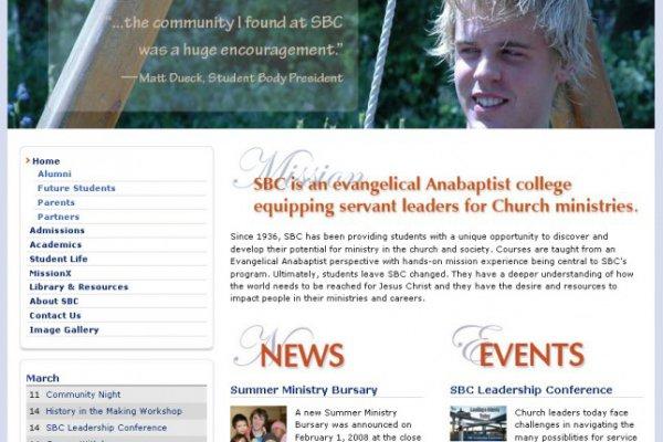 SBC Home page